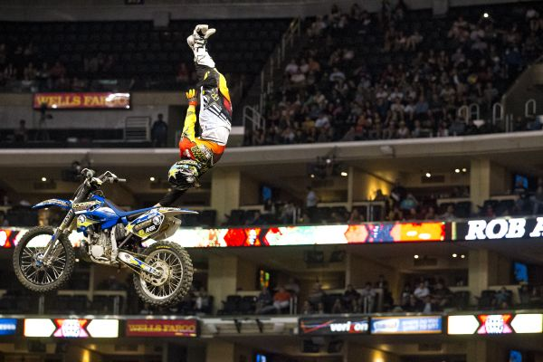 X Games Los Angeles 2013: FMX-Freestyle.  Foto: Garth Milan/ESPN Images