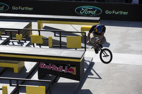 X Games Los Angeles: BMX Street.  Foto: Christian Pondella/ESPN Images