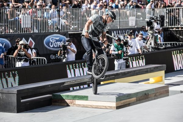 X Games Los Angeles: BMX Street.  Foto: Peter Morning/ESPN Images