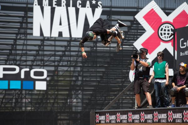 X Games Los Angeles 2013: Skateboard Vert.   Foto: Bryce Kanights/ESPN Images