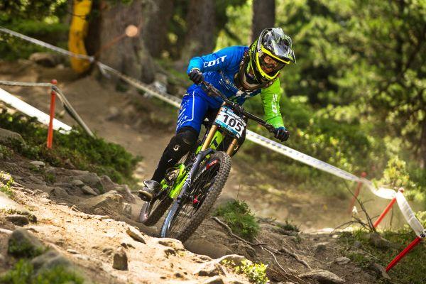 IXS European Downhill Cup Pila 2013.  Foto: Thomas Dietze