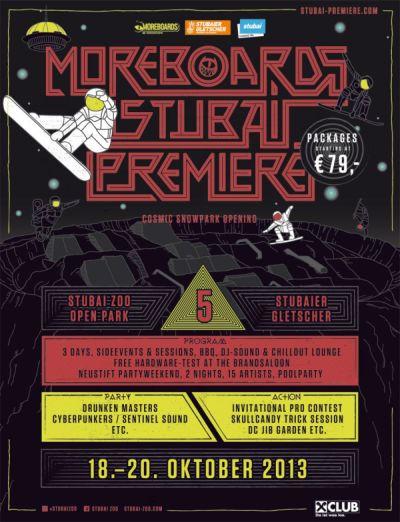 Moreboards Stubai Premiere 2013.  Foto: Veranstalter