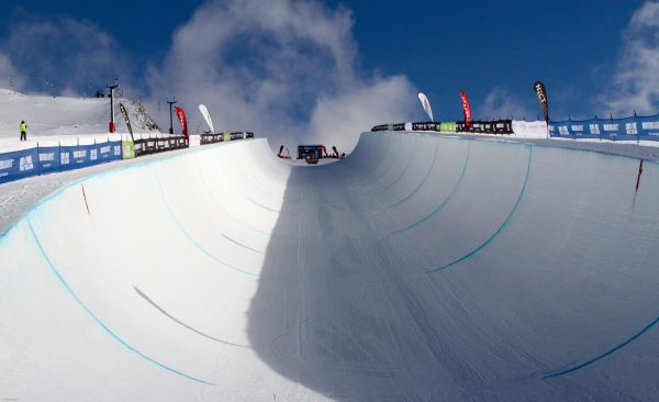 Snowbaord World Cup Cardrona 2013.  Foto: © Oliver Kraus