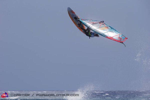 PWA Windsurf World Cup Tenneriffa 2013.  Foto: Carter/PWAWorldtour.com
