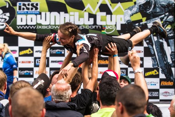 iXS Downhill Cup Ilmenau 2013.  Foto: Thomas Dietze