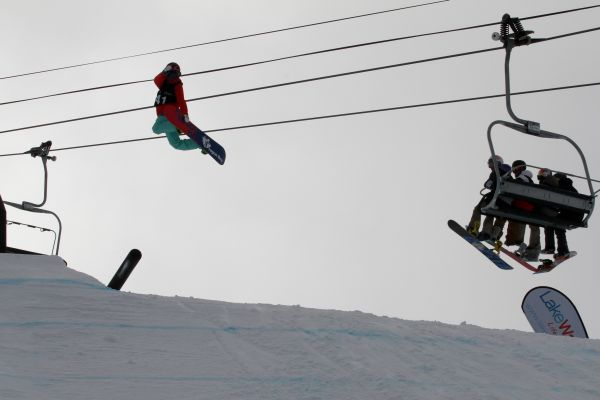 Snowboard Weltcup Cardrona 2013/2014.  Foto: FIS/Oliver Kraus