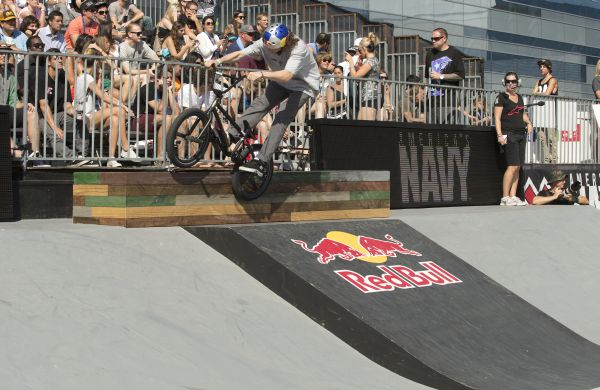 Bruno Hoffmann bei den X Games in Barcelona.  Mike Blabac/Red Bull Content Pool