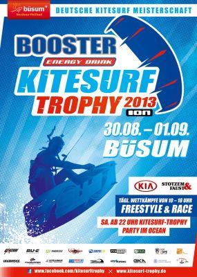 Kitesurf-Trophy Büsum 2013.  Foto: Veranstalter