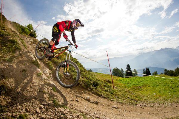 iXS Swiss Downhill Cup Anzère 2013.  Foto: Patrick Gutsche
