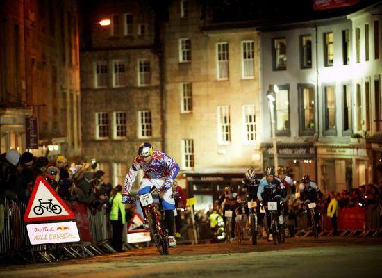 Red Bull Hill Chasers Edinburgh 2013.  Foto: richie hopson/ redbull media house
