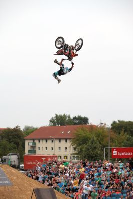Deutsche Freestyle-Motocross Meisterschaft 2013.  Foto: Oliver Franke