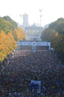 Berlin-Marathon.  Foto: BMW BERLIN-MARATHON/Jiro Mochizuki