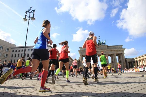 Berlin-Marathon.  Foto: BMW BERLIN-MARATHON/J.P. Durand