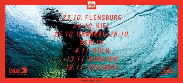 Blue Surf Film Nacht 2013.  Foto: Veranstalter