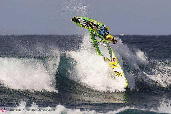 Finaltag beim PWA Windsurf World Cup Hawaii 2013.  Foto: Carter/pwaworldtour.com