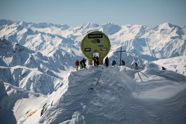 Big Mountain Fieberbrunn Kitzbüheler Alpen 2014.  Foto: www.freerideworldtour.com/ D. Carlier