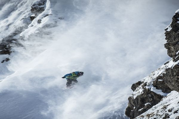 Big Mountain Fieberbrunn Kitzbüheler Alpen 2014.  Foto: www.freerideworldtour.com/ D. Daher