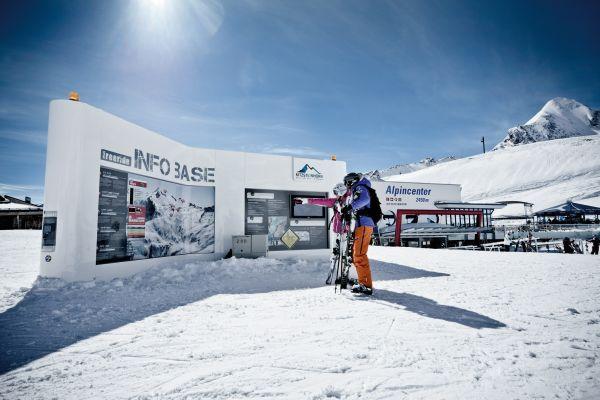 Freeriden am Kitzsteinhorn.  Foto: Gletscherbahnen Kaprun AG/Kitzsteinhorn