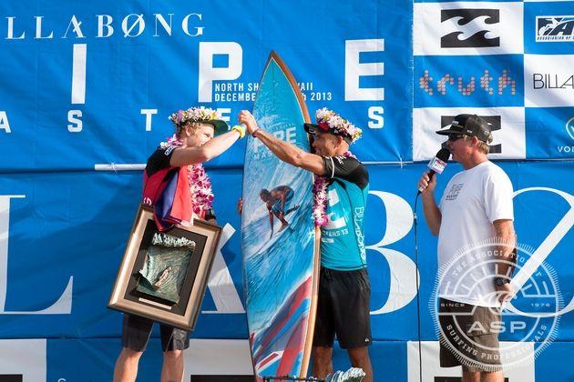 Billabong Pipe Masters 2013.  Foto: ASP/Cestari
