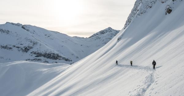 Freeriden Arlberg Warth-Schroecken 2013 2014.  Foto: Warth-Schröcken Tourismus