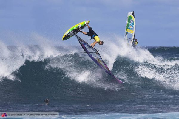 Rückblick: Windsurf World Cup Hawaii 2013.  Foto: Carter/pwaworldtour.com