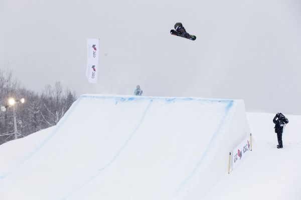 FIS Snowboard Freestyle World Cups Kanada 2014.  Foto: Renaud Philippe