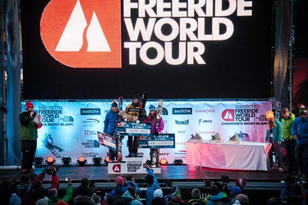 Freeride World Tour Charmonix 2013.  Foto: DCARLIER/freerideworldtour.com