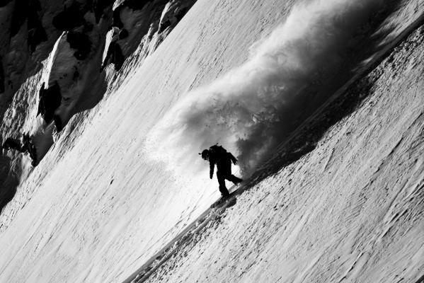 Das Wunder vom Mont-Blanc: Loic Collmb-Patton siegt erneut.  Foto: Freerideworldtour.com/DCARLIER