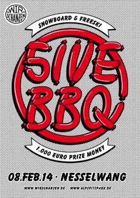 The 5ive BBQ 2014.  Foto: Veranstalter