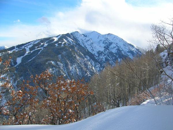 Skigebiet Aspen.  Quelle: Wikimedia