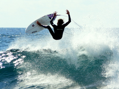 Surfer.  Foto: daniel Stricker, pixelio.de
