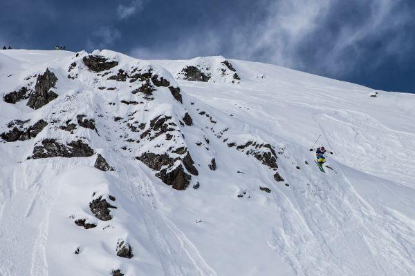 Freeride World Tour Qualifier Big Mountain Hochfügen 2014.  Foto: Verein Schneesüchtig