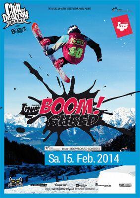 Axamzer Lizum Boom Shred 2014.  Foto: Veranstalter