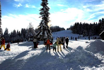 Skipiste im Schwarzwald.  Foto: H.D.Volz  / pixelio.de