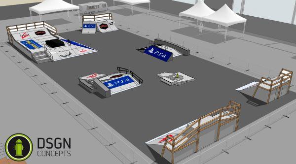 COS Cup 2014: Setup in Bremen.  Foto: Veranstalter