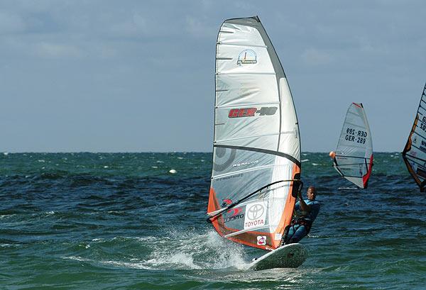 Bernd Flessner beim Deutschen Windsurf Cup in Fehmarn