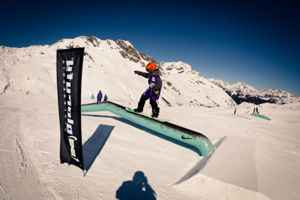 Chill and Destroy Tour 2014: Silvretta Montafon Shred Champs 2014.  Foto: Boris Nachbauer