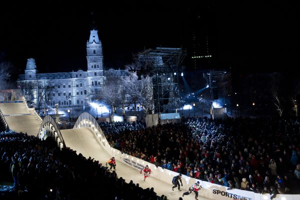 Red Bull Crashed Ice Quebec 2014.  Foto: ANDREAS Schaad/Red Bull Content Pool