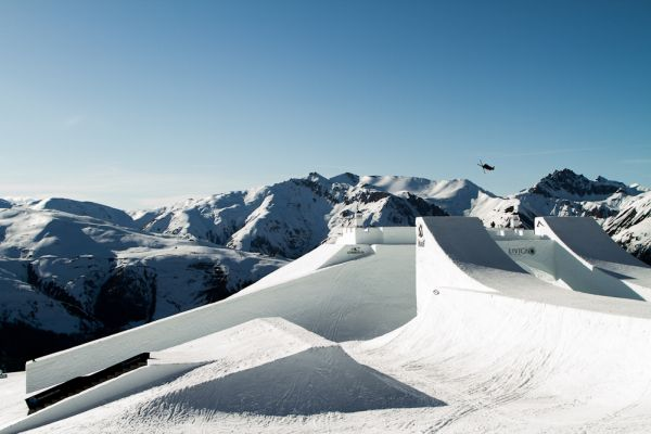 Nine Knights und Nine Queens in Livigno.  Foto: David Malacrida