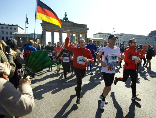 Berline Halbmarathon 2014.  Foto: Copyright SCC EVENTS/Camera4
