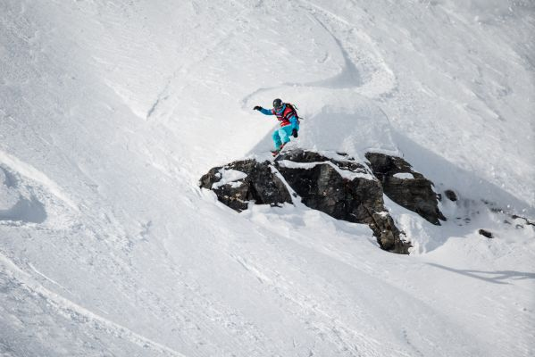 Swatch Freeride World Tour by The North Face 2014: XTreme Verbier.  Foto: Freeridworldtour.com/DCARLIER