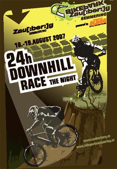 24 Stunden Downhill