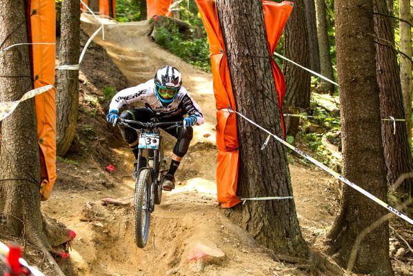 European Downhill Cup Leogang 2013.  Foto:  © Thomas Dietze