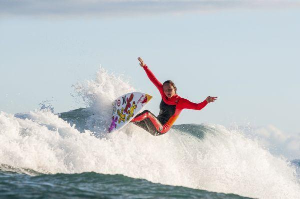Carissa Moore beim Rip Curl Pro Bells Beach 2014.  Foto: Trevor Moran/Red Bull Content Pool