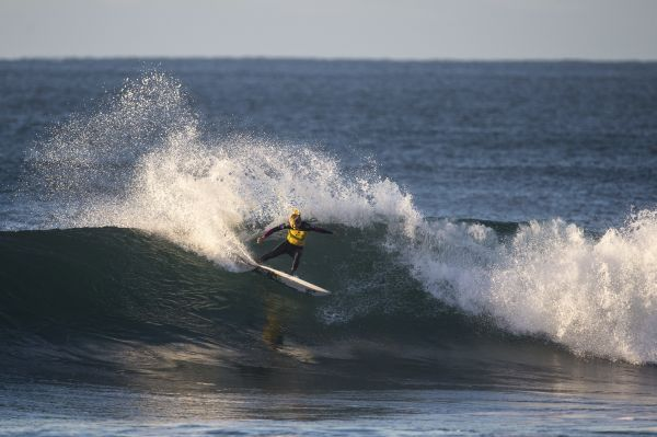 Stehanie Gilmore beim Rip Curl Pro Bells Beach 2014.  Foto: Ryan Miller/Red Bull Content Pool