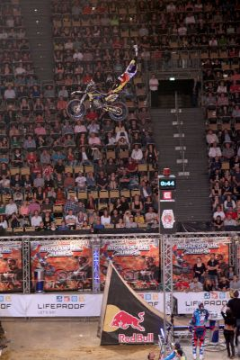 Rob Adelberg bei der Night of the Jumps München 2014.  Foto: Marko Manthey / Oliver Franke / NOTJ.de