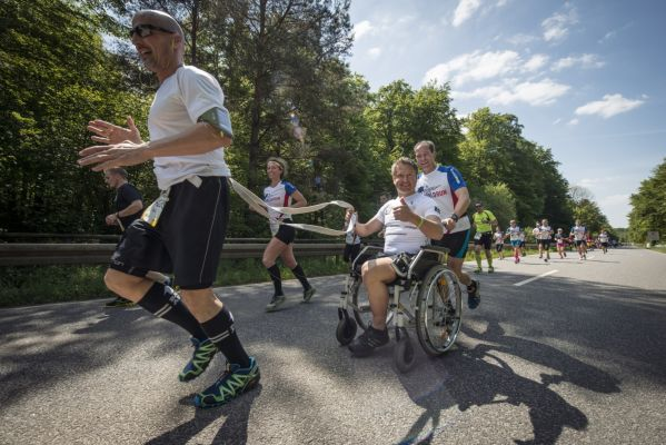 Wings for Life World Run Darmstadt 2014.  Foto: Marcel Laemmerhirt