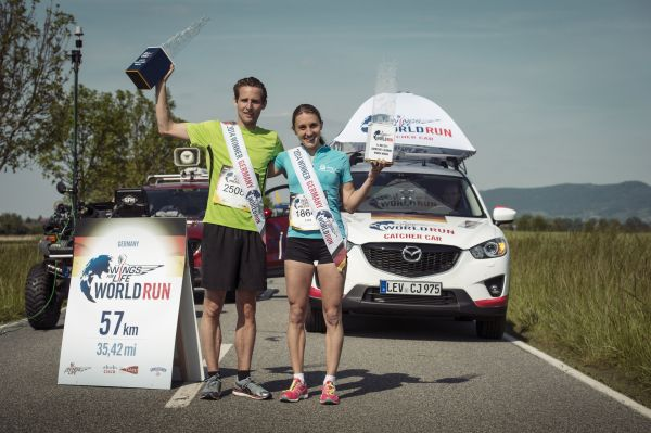Wings for Life World Run Darmstadt 2014.  Foto: Marcel Laemmerhirt