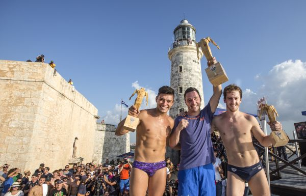 Red Bull Cliff Diving World Series Kuba 2014.  Foto: Romina Amato/Red Bull Cliff Diving