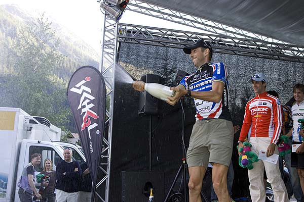 Ironbike-Gewinner Massimo de Bertolis